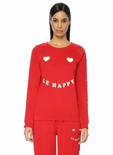 Zoe Karssen Sweatshirt Kırmızı
